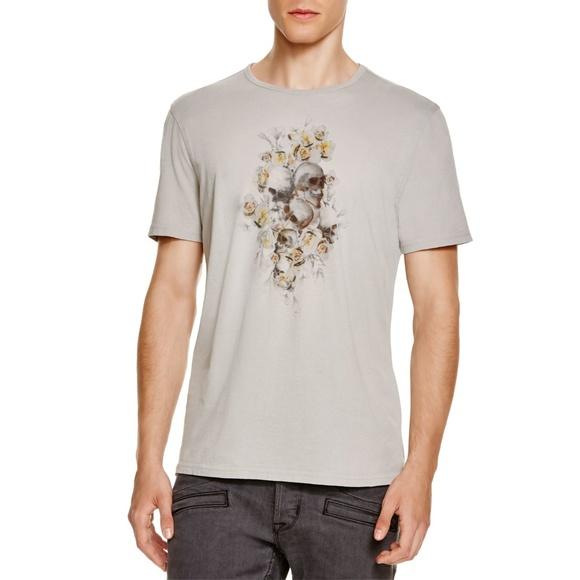 20862d8e2 John Varvatos Other - John Varvatos floral skull roses graphic t-shirt